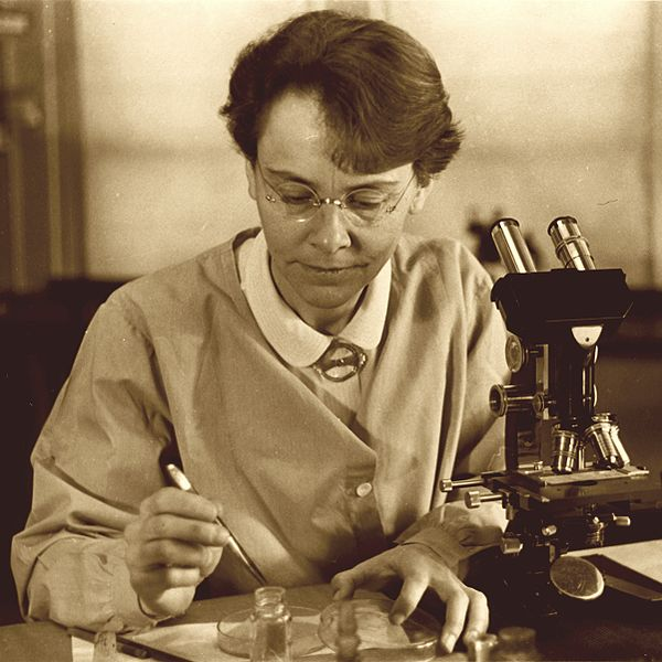Barbara McClintock photo