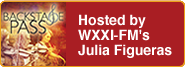 Backstage Pass Hosted by WXXI-FM's Julia Figueras