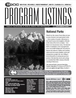 Program Listings for September 2009