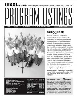 Program Listings - March 2010