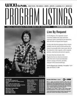 Program Listings - November 2009