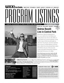 Program Listings - December 2011