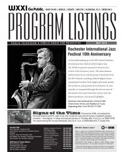 Program Listings - May 2012