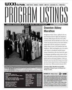 Program Listings - November 2011