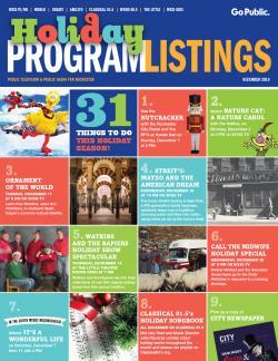 Program Listings - December 2019