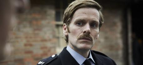 Shaun Evans sports a new look as