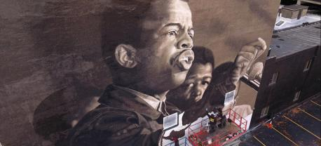 Learn more about the mural honoring the