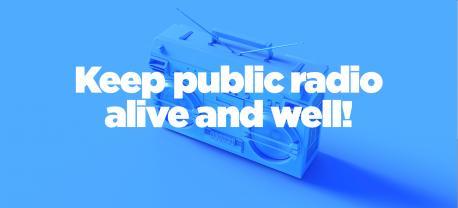 Pledge your support of public radio