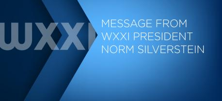 """""""WXXI continues to bring you news,"""