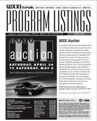 Program Listings - April 2010