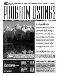 Program Listings for September 2009