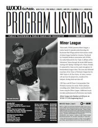 Program Listings - May 2010