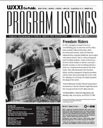 Program Listings - May 2011