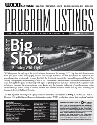 Program Listings - September 2011