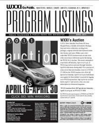 Program Listings - April 2011