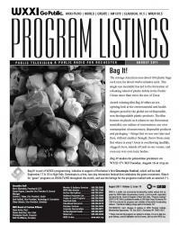 Program Listings - August 2011