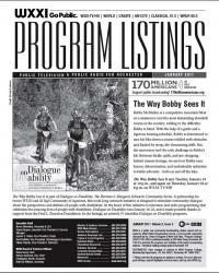 Program Listings - January 2011