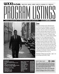 Program Listings - July 2011