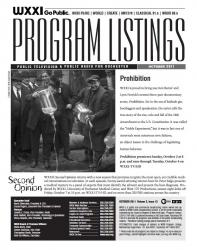 Program Listings - October 2011
