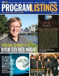 Program Listings - August 2013