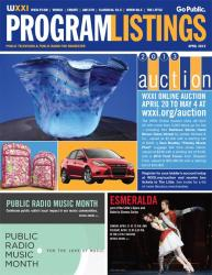 Program Listings - April 2013