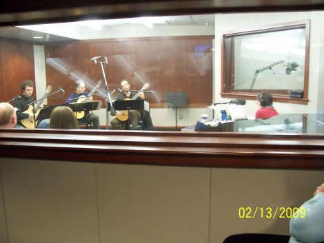 In the Henry Epstein Studio at WXXI