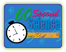 60 Second Science Activities Button