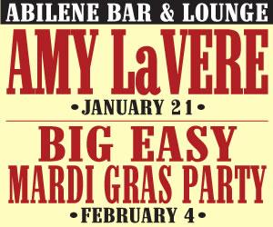 Abilene Ad Amy LaVere/Big Easy