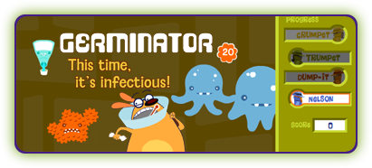 Germinator game button