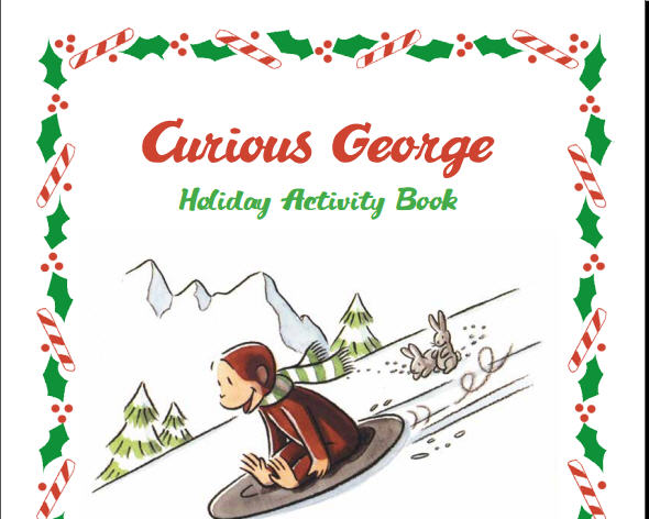 image about Curious George Printable known as Holiday vacation Video game Printable Guide towards Curious George WXXI
