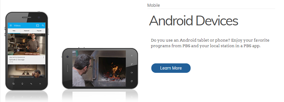 PBS on Android Phones