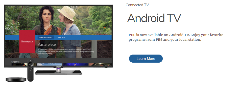 PBS on Android TV