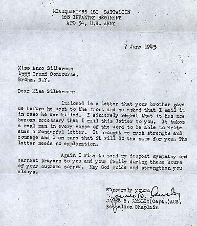 Letter to my family wxxi letter to my family world war ii dear miss silberman expocarfo Choice Image