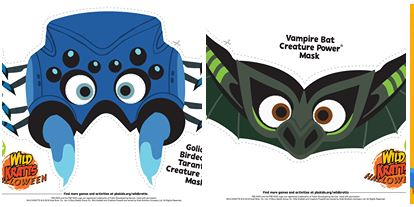 photo about Wild Kratts Creature Power Discs Printable known as Family members Video Evening: Wild Kratts: Creepy Creatures WXXI
